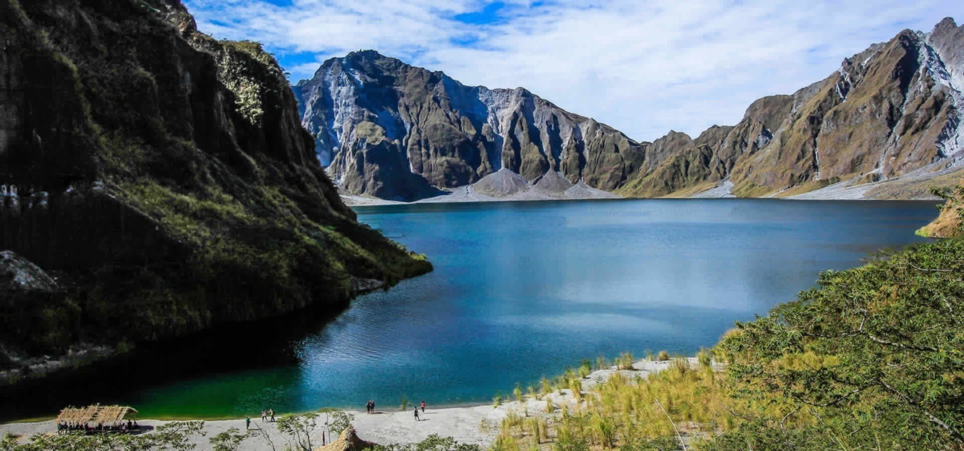 Crater Lake is one of the attractions to visit while staying at Quest Hotel Clark